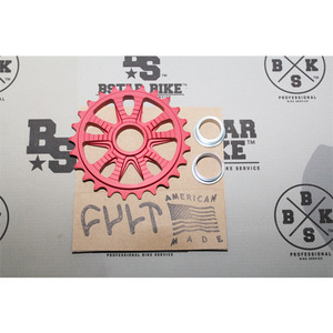 CULT Member Sprocket 25t -Red-