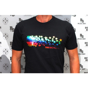 TREE Rainbow Stars Tee -2 Size- [-9,000�� ����]