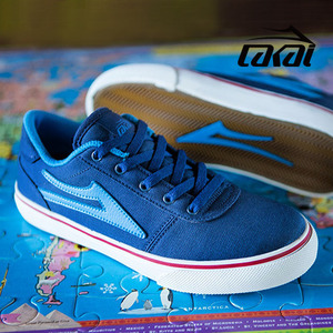 ��ī�� ��ü���� ��ս� ���̺� ĵ���� LAKAI MANCHESTER KIDS NAVY CANVAS